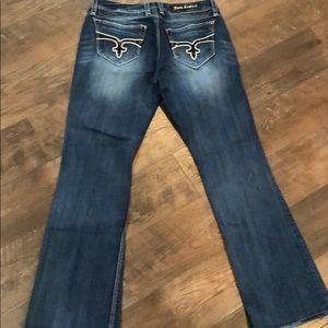 Rock Revival easy boot jeans 30x30 Buckle EUC